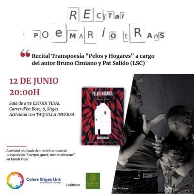 Recital Trans*poesía de Bruno Cimiano