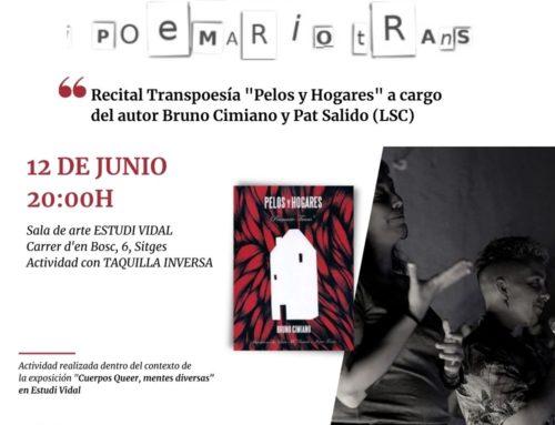 Recital Trans*poesía con Bruno Cimiano
