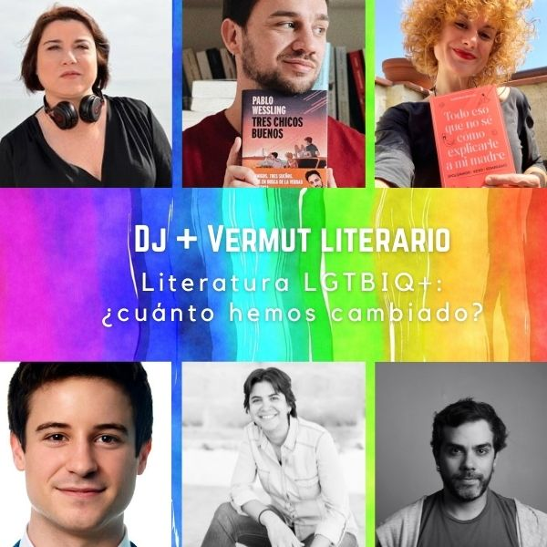 Dj + Vermut literario